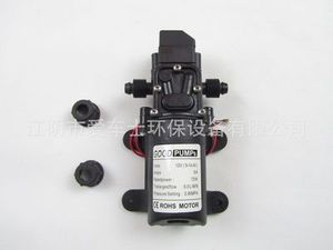 Image 2 - DC 12V 130PSI 6L/Min Water High Pressure Diaphragm Water Pump Self Priming Pump Automatic Switch 72W