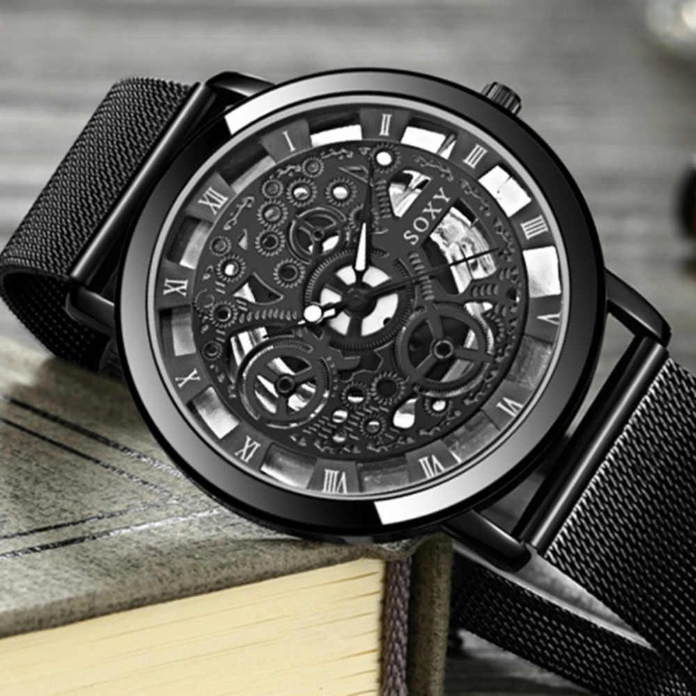 Reloj de pulsera de cuarzo Unisex para hombres y mujeres, reloj de pulsera de lujo de plata y dorado, reloj Retro