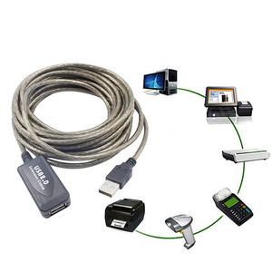 Image 2 - 2018 5/10/15/20m USB 2.0 Active Extension Repeater Cable Signal Booster Extended Cord