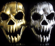 2pcs/lot Halloween Cosplay Party Decor Skull Horror Ghost Masks