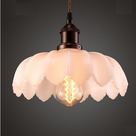 Retro Loft Style Iron Glass Edison Pendant Light For Dining Room Hanging Lamp Vintage Industrial Lighting Lamparas Colgantes loft edison vintage retro cystal glass black iron light ceiling lamp cafe dining bar hotel club coffe shop store restaurant