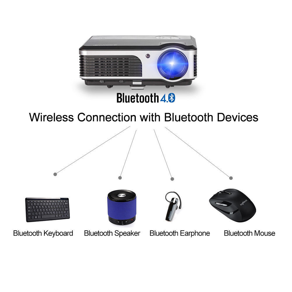Lcd-projektoren Projektoren Gut Caiwei Tragbare Android Mini Led Projektor Wifi Drahtlose Hd Video Film Home Theater Projektor Hdmi Tv Av Usb