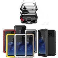 Luxury Shockproof 3 Layers Hybrid Phone Cases For Samsung Galaxy S8 S7 S6 Edge Plus S5