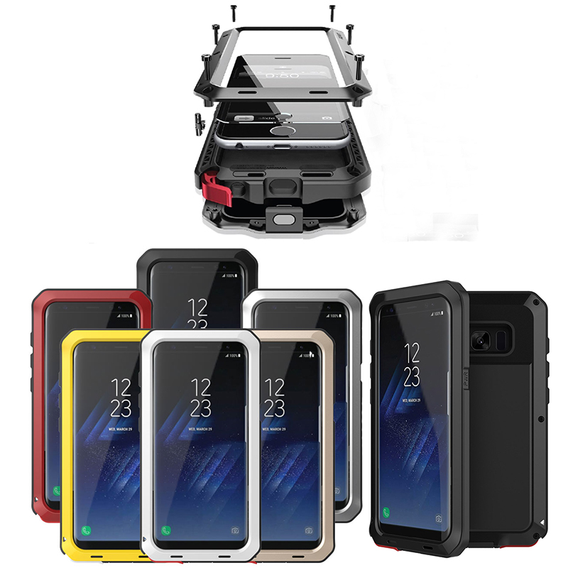 Shockproof 3 Layers Hybrid Phone Cases for Samsung Galaxy S8 S7 S6 Edge Plus S5 S4