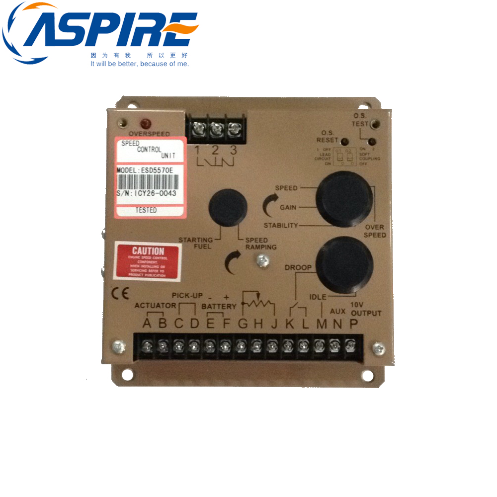 Free Shipping Diesel Generator Speed Control Panel Governor ESD5570E ESD5570 free shipping deep sea generator set controller module p5110 generator control panel replace dse5110