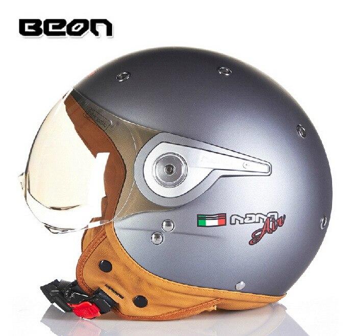 Новая аутентичная обувь Нидерланды BEON модный высокий уход за кожей лица мотоциклетный шлем электронные велосипедные шлемы B110A для мужчин и женщин - Цвет: titanium
