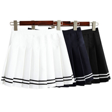 Summer Student Tennis Women Skirts American Apparel Pleated Mini Black Skated High Waist Plus Size Skirt MF986574 barrett eaton stannard the heroine