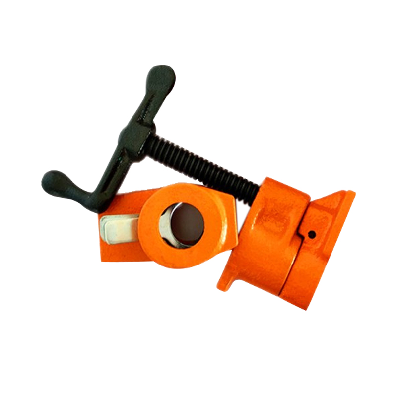 Image 3 - Cast Iron Wood Gluing Pipe Clamp Quick Release 1/2 3/4Inch Clip Set Woodworking Tool JDH99-in Clamps from Home Improvement