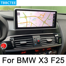 For BMW X3 F25 2011~2013 CIC Car Android Radio GPS Multimedia player stereo HD Screen Navigation Navi Media WIFI Map