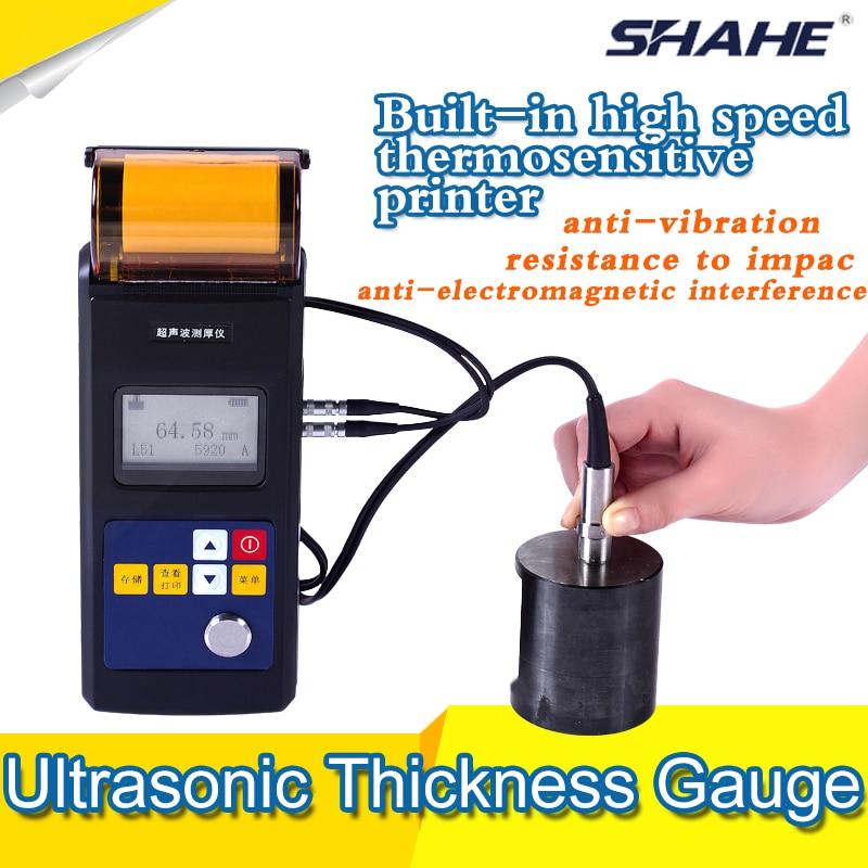 Leeb 342 ultrasonic thickness gauge with printer plate digital thickness gauge metal