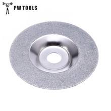 PW TOOLS 100mm Diamond Grinding Disc Cut Off Discs Wheel Glass Cuttering Saw Blades Rotary Abrasive Tools