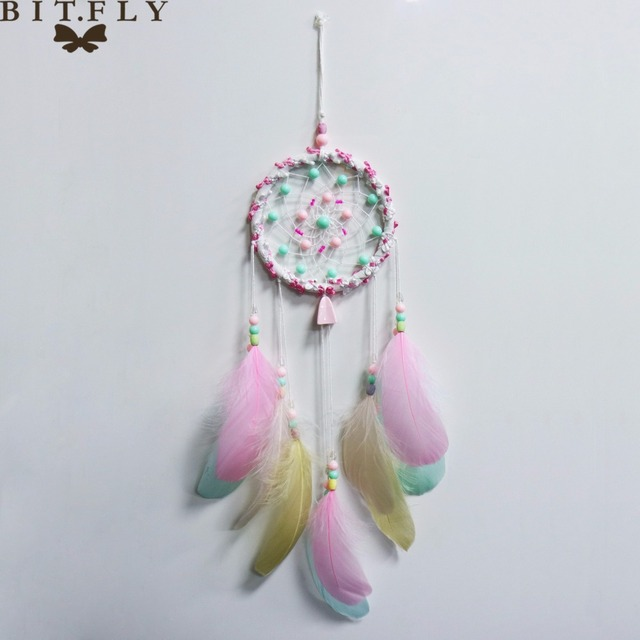 Wedding Party Decoration Handmade Dream Catcher Home Decor For Wall Hanging  DIY Children Room Decoration Mascot