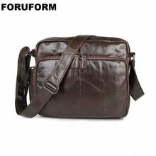 2019 Fashion Genuine Leather Man Messenger font b Bag b font Cowhide Leather Male font b