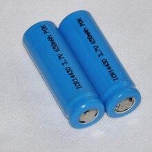 4 шт. UNITEK 3,7 в ICR 14430 литий-ионная батарея 650 мАч перезаряжаемая литий-ионная батарея для фонарика, камеры, бритвы, зубной щетки и т. Д