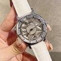 Топ бренд 2019 Роскошный алмазов наручные ручной Кристалл Мода кварцевые часы для Для женщин Стильные дамы девушки часы