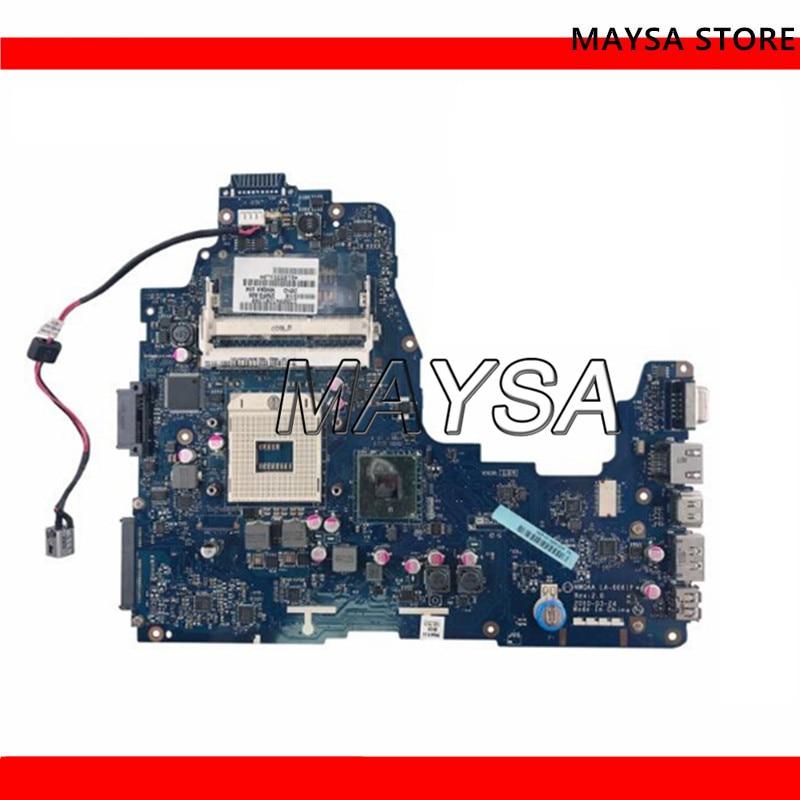 NWQAA LA 6061P K000104250 Mainboard fit for toshiba Satellite A660 laptop motherboard HM55 DDR3 warranty 60 days