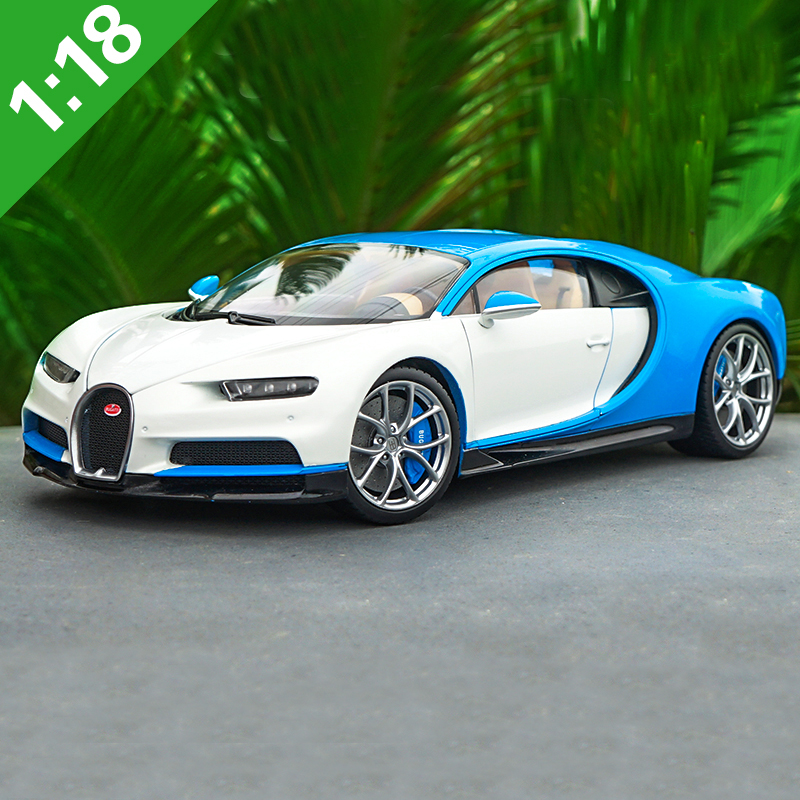 1/18 Bugatti Chiron 2016 Super Car Welly GTAUTOS Diecast Metal Car Model Boy Girl Birthday Gift Collection Free Shipping