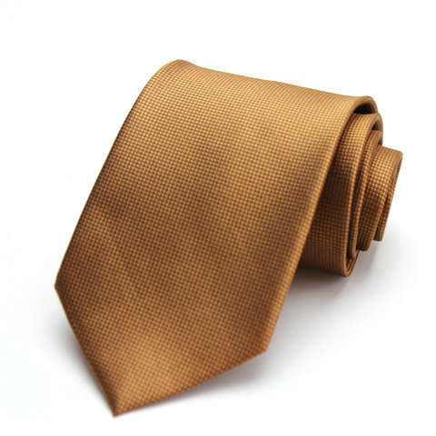 Free Shipping Cheap 2015 south korean silk commercial formal tie marriage tie plaid tie 8cm coffee fine plaid