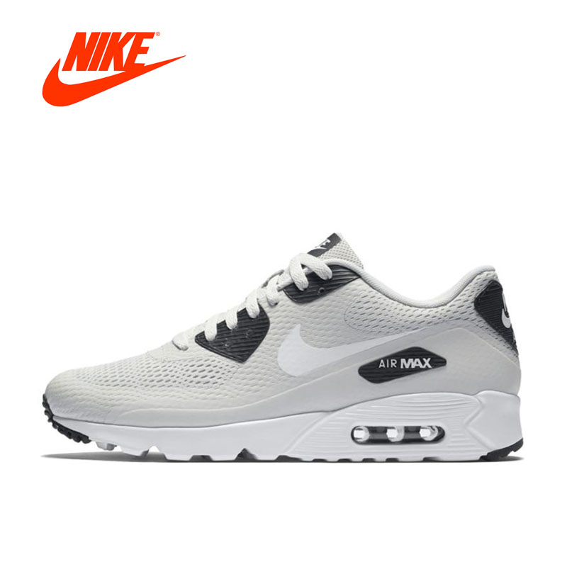 Original New Arrival Authentic Nike AIR MAX 90 ULTRA Men's Breathable Running Shoes Sports Sneakers original nike sneakers breathable air max motion lw women s running shoes beginner summer air mesh sports sneakers women shoes