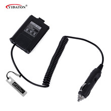Baofeng Battery Eliminator Adator Car Charger For Portable Radio UV 5R UV-5RB UV-5RA Two Way radio Walkie Talkie Accessories