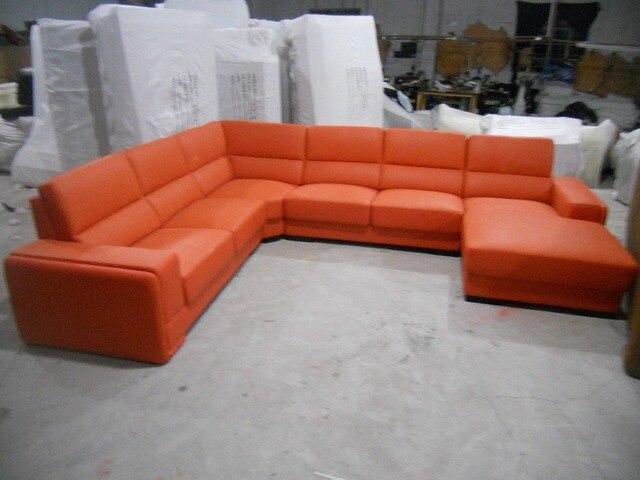 Leather Sofa/Living Room Sofa Furniture Set U Shape  3