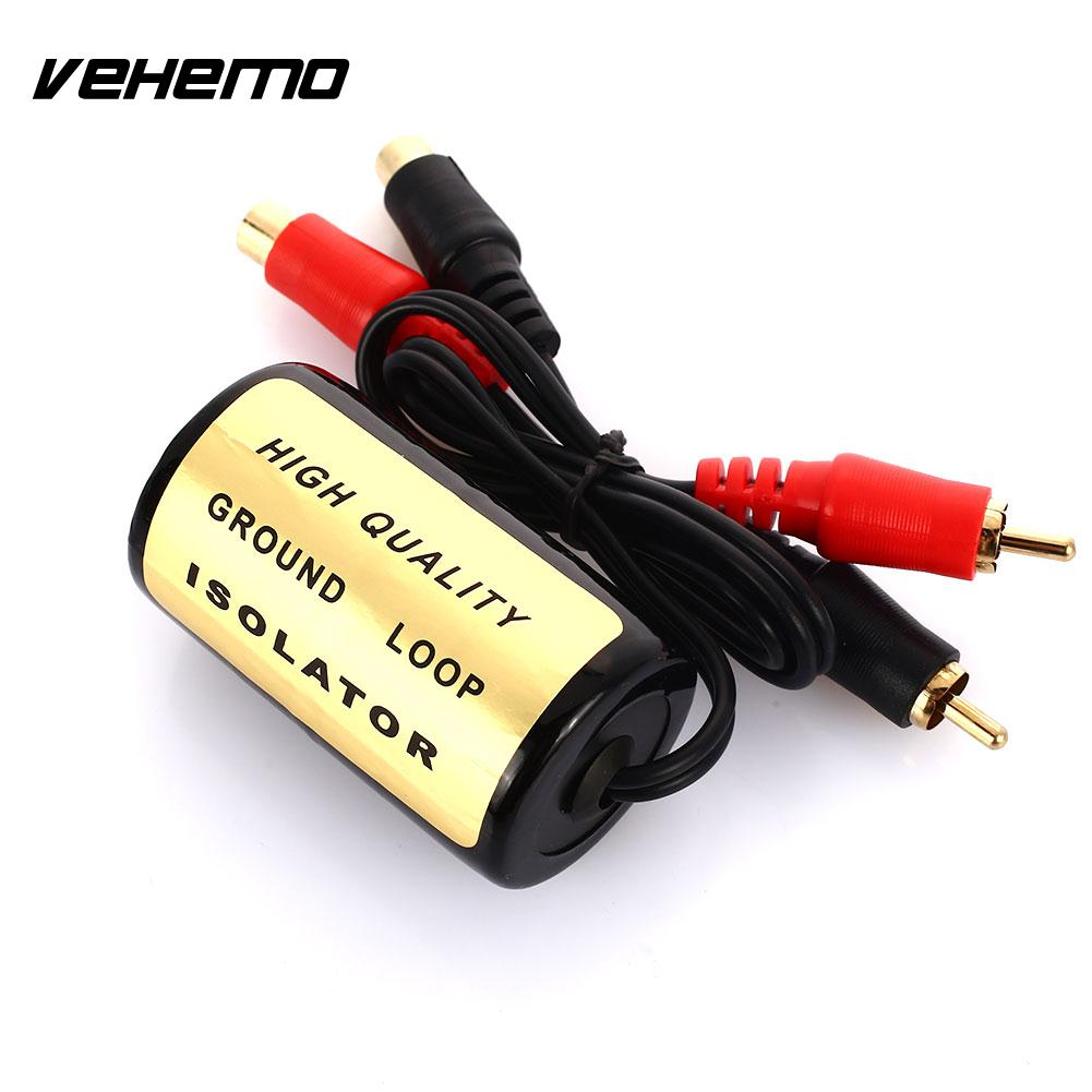 3.5mm // 1//8 Female Stereo Audio Input//Output Pyle PLGI35T Compact /& Designed for Use w// Same Audio Players Eliminate Engine Noise Portable Stereo Ground Loop Isolator Compatible Model