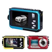 JOZQA 1080P HD Waterproof Digital Camera 24MP 2.7 TFT photo camera 16x Zoom Smile Capture Anti shake Video Camcorder