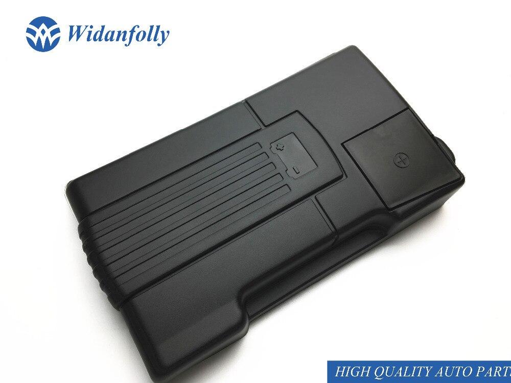 Widanfolly положительный отрицательный Аккумулятор для двигателя, защита от пыли для Tiguan L Passat B8 Golf 7 MK7 Sportsvan Touran L 2017