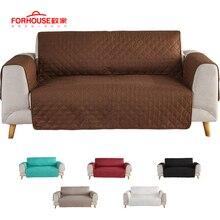2c0a3cc67252 Sofá cubierta de sofá silla tirar perro niños estera muebles Protector  Reversible lavable desmontable reposabrazos fundas