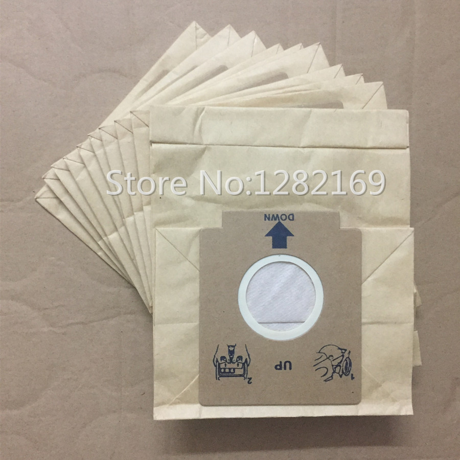 цена на 10 pieces/lot Vacuum Cleaner Dust Bag Paper Filter Bag for Electrolux ZMO1550 ZM01510 ZMO1511 ZMO1530