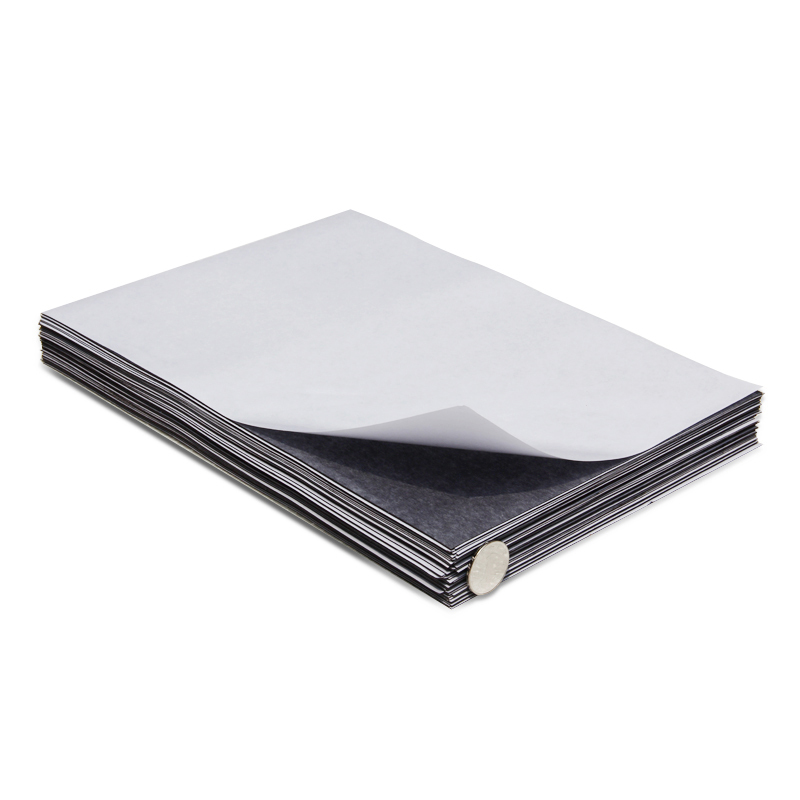 1pcs Self Adhesive Flexible Magnetic Sheet A4 Size 0.5mm Thickness Car/Ad Art Craft Fridge Rubber Magnet био магнитный наматрасник bio magnetic sheet casada cs 902