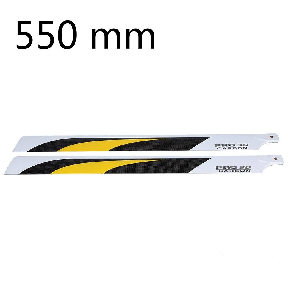 Eboyu (ТМ) углеродного Волокно 550 мм лопастей для RC 550 вертолет