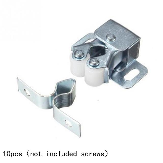 High Quality 10 Pcs Flat Bottom Door Holder Drawer Cabinet Catch Touch Latch  Cupboard