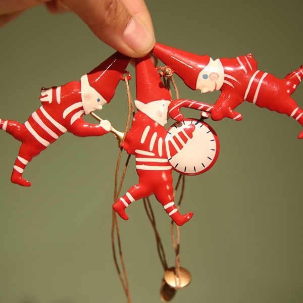 Nórdico natal 3d arte artesanato pendurado decoração pomba estrela reino unido bonito crianças anjo boneco de neve árvore de natal pendurar elf na prateleira