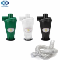 1Pcs Cyclone SN50T3 Dust Collector 1Pcs 55mm Inner Diameter Suction Tube Cleaner Hose 1 5M Third
