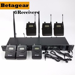 Betagear SR2050 IEM 6Receivers in ear monitor system stage monitoring system studio professional audio sound system professional
