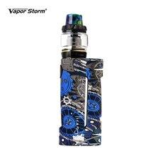 Caja de cigarrillos electrónicos Mod Vapor Storm ECO Max, 90W, Color de grafiti Bypass Mode, rosca 510 sin batería, compatible con RDA RDTA
