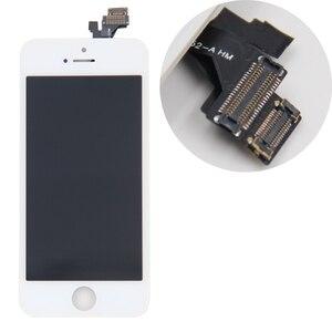 Image 3 - En ucuz fiyat LCD ekran için Pantalla iPhone 5 S 5C 5 SE LCD dokunmatik ekran Digitizer meclisi + araçları + TPU + cam