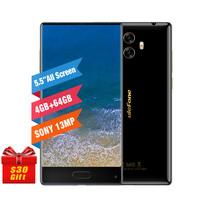 Ulefone MIX 4GB RAM 64GB ROM 13MP Smartphone MTK6750T Octa Core Dual Camera 5 5 Inch