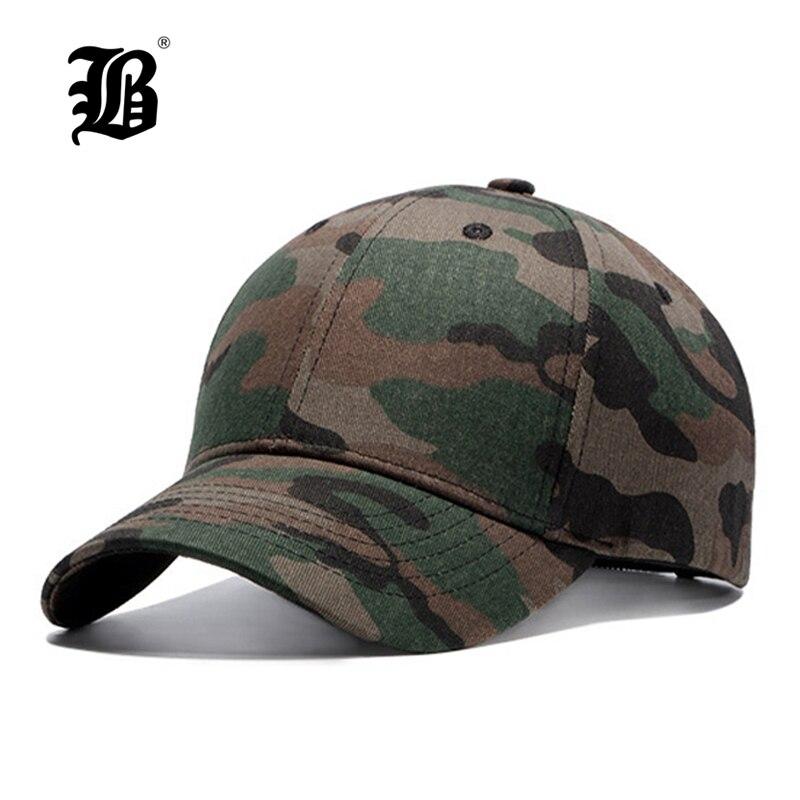 [FLB] Quality Hip Hop Hats Spring Summer Men Women   Baseball     Cap   Camouflage Snapback Bone High-Grade Cotton Sunscreen   Caps