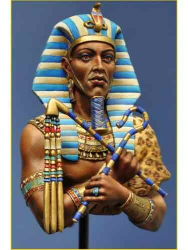 1/10 Pharaoh in egypt bust   toy Resin Model Miniature Kit unassembly Unpainted