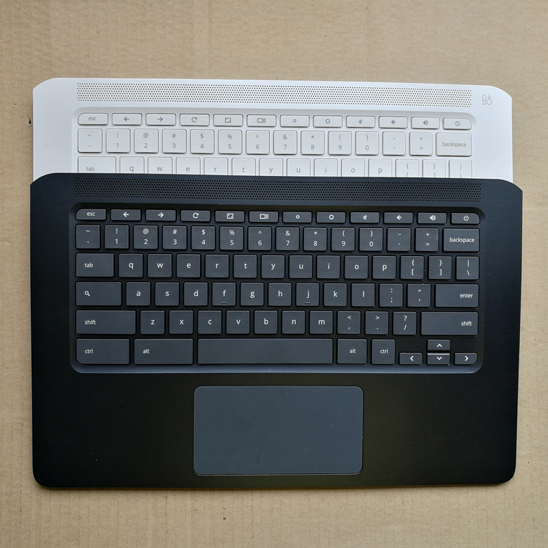 US /UK layout new laptop keyboard with touchpad palmrest for HP Chromebook 14 G5 TPN-Q204 цена