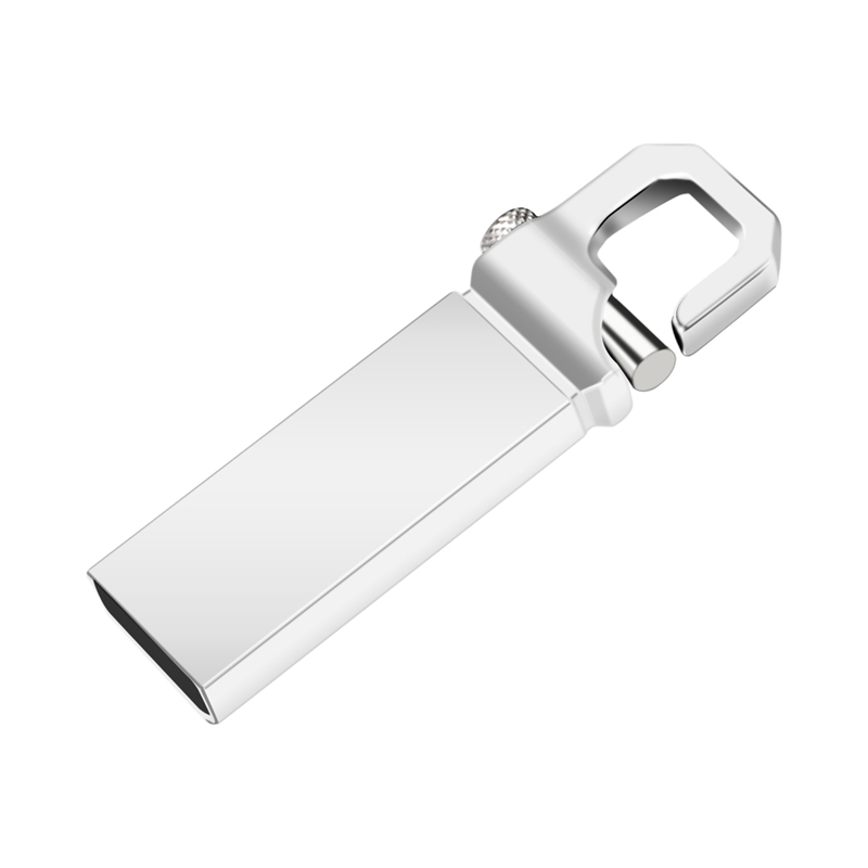 Image 3 - New Arrival Usb Flash Drive 32GB Usb 2.0 Metal Pen Drive 16GB 8GB 4GB Silver Flash Memory Stick 128GB 64GB Pendrive Gift U Disk-in USB Flash Drives from Computer & Office