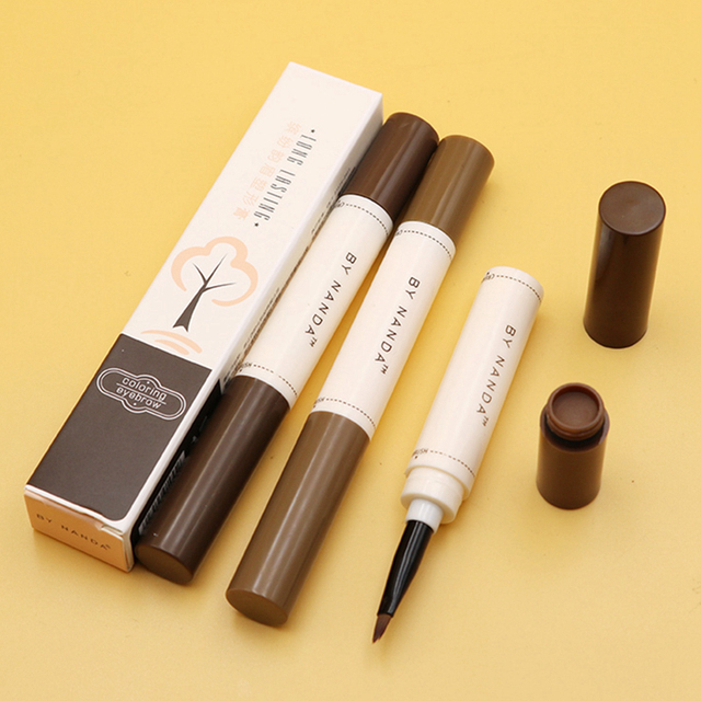 Eyebrow Enhancers Eyes Makeup Professional Eye Brow Dye Cream Pencil Long-lasting Waterproof Brown Tint Paint Henna Eyebrows 1