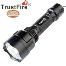 TrustFire C8 CREE L2 U2 5 modo Lanterna led 18650 luzes led luz do flash lanternas tocha linterna lanterna tactica tactico