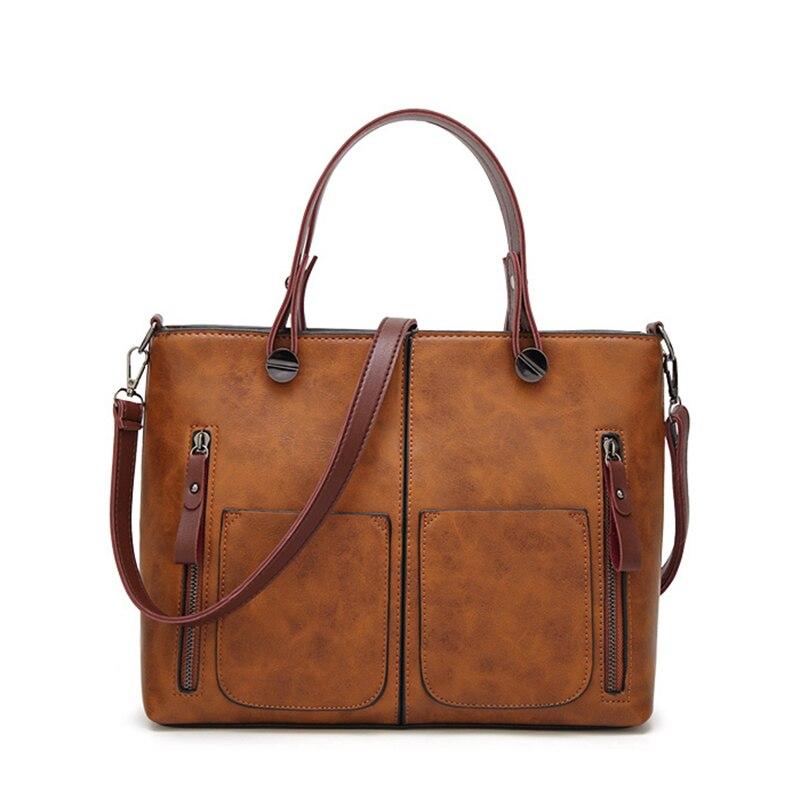 97474814028 BIG SALE] Women Handbag Women Bags Leather Handbag Female Messenger ...