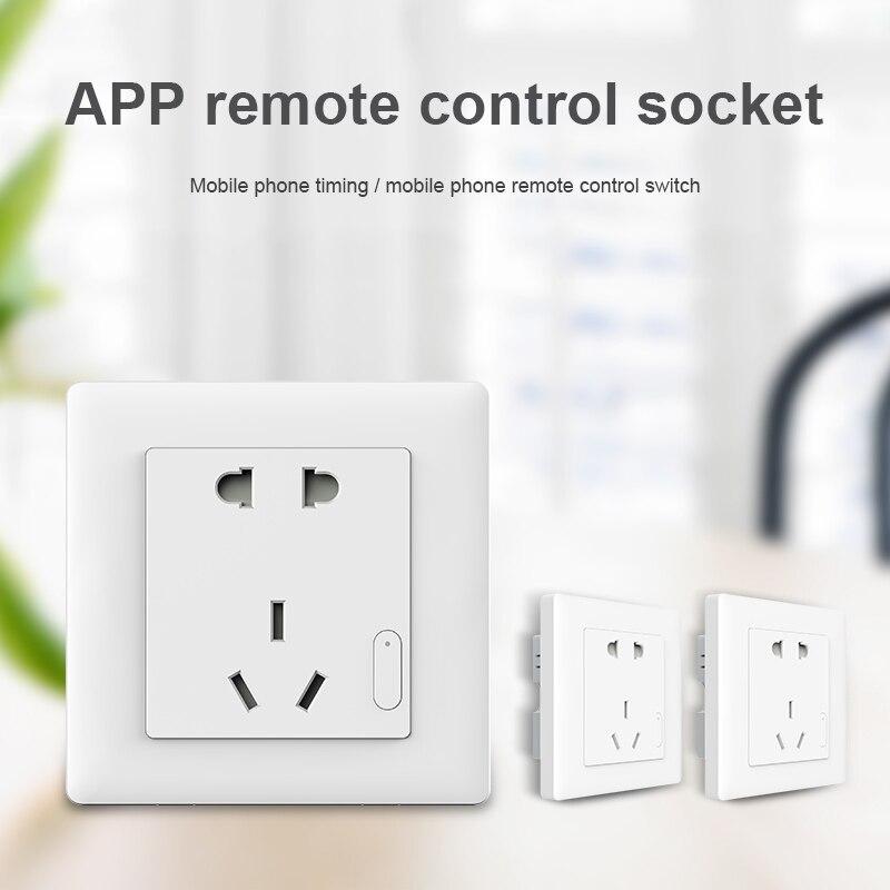 Ampoule connectée Contrôle ZiGBee interrupteur prise Plug Via Smartphone APP Sans Fil À Distance WWO66