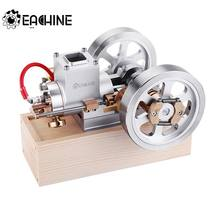 Eachine ET1 STEM Upgrade Hit & Miss Gas Motor Stirlingmotor Model Verbrandingsmotor Collectie DIY Project(China)