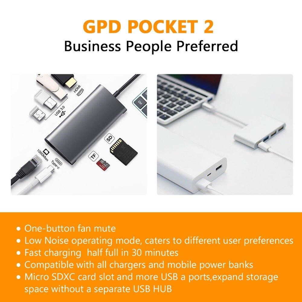 Buy Original GPD Pocket2 Pocket 2 7 Inch Aluminum Shell