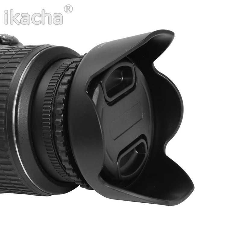 ใหม่ 49 52 55 58 62 67 72 77 82 มม. กลีบดอกไม้สำหรับเลนส์ Canon Nikon Sony pentax DSIR กล้อง